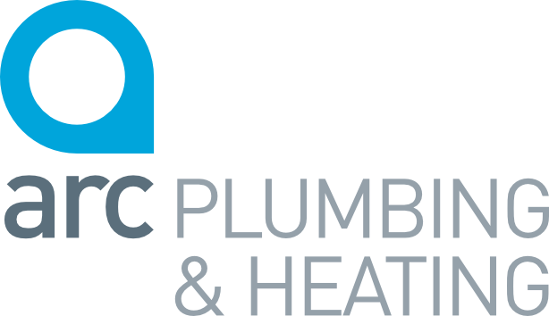 Arc plumbing and heating logo